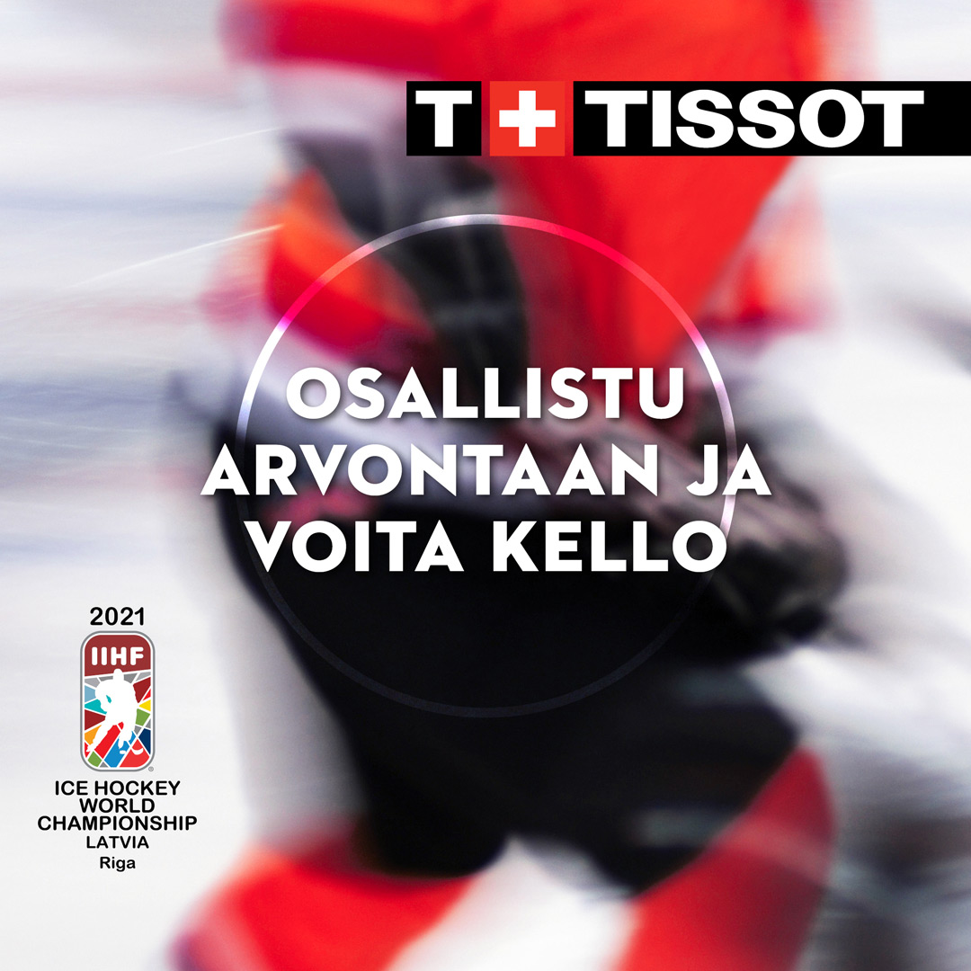 Aseman Kello Tissot PRC200 IIHF-kilpailu 2021